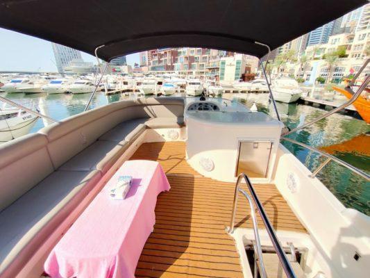 Fishing yacht dubai