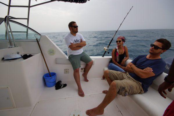Rental fishing trip