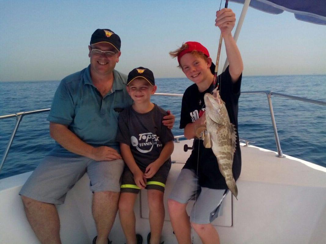 Hire deep sea fishing dubai