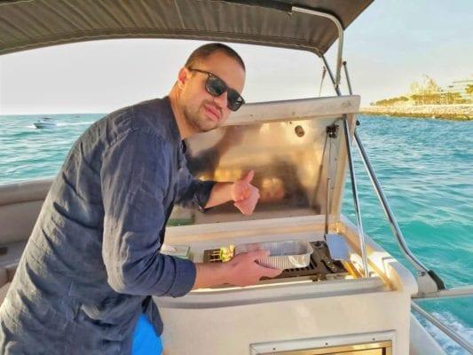 Cuisine Nanje Yachts